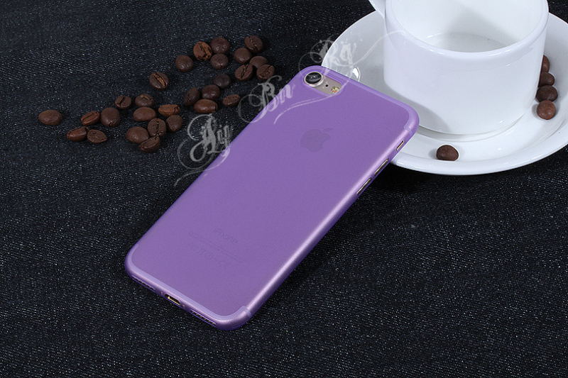 HTB1APTNQXXXXXcKXVXXq6xXFXXXy - FREE SHIPPING Ultrathin Hard frosted Case for iphone X 7 6S 6 8 Plus Slim Matte PP Cover Clear Black Grey Purple Rose Red Green Blue JKP386