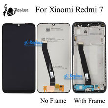 Original 6.3 inch Black/Blue For Xiaomi Redmi 7 LCD Display Touch Screen Digitizer Assembly With Frame For Redmi 7 Global(China)