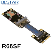 Mini PCIe mPCIe WiFi WAN To M.2 WIFI A.E key / PCI-e mSATA NVMe Riser Card adapter Extender Cable 8Gbps Customization