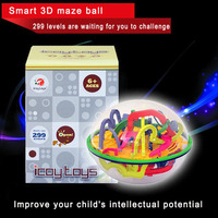 299 Steps Maze Ball Parent Child Interaction Games Smart 3D Magical Intellect Balance Logic Ability Puzzle
