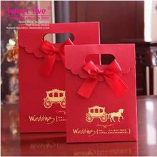 Wedding Favour Candy Gift Boxes (chinese red)