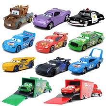 Металлический сплав 1:55 Disney Pixar Тачки 2 3 Молния Маккуин HTB короли Рамирес динако Джексон Мак дядюшка грузовик игрушечный автомобиль подарки