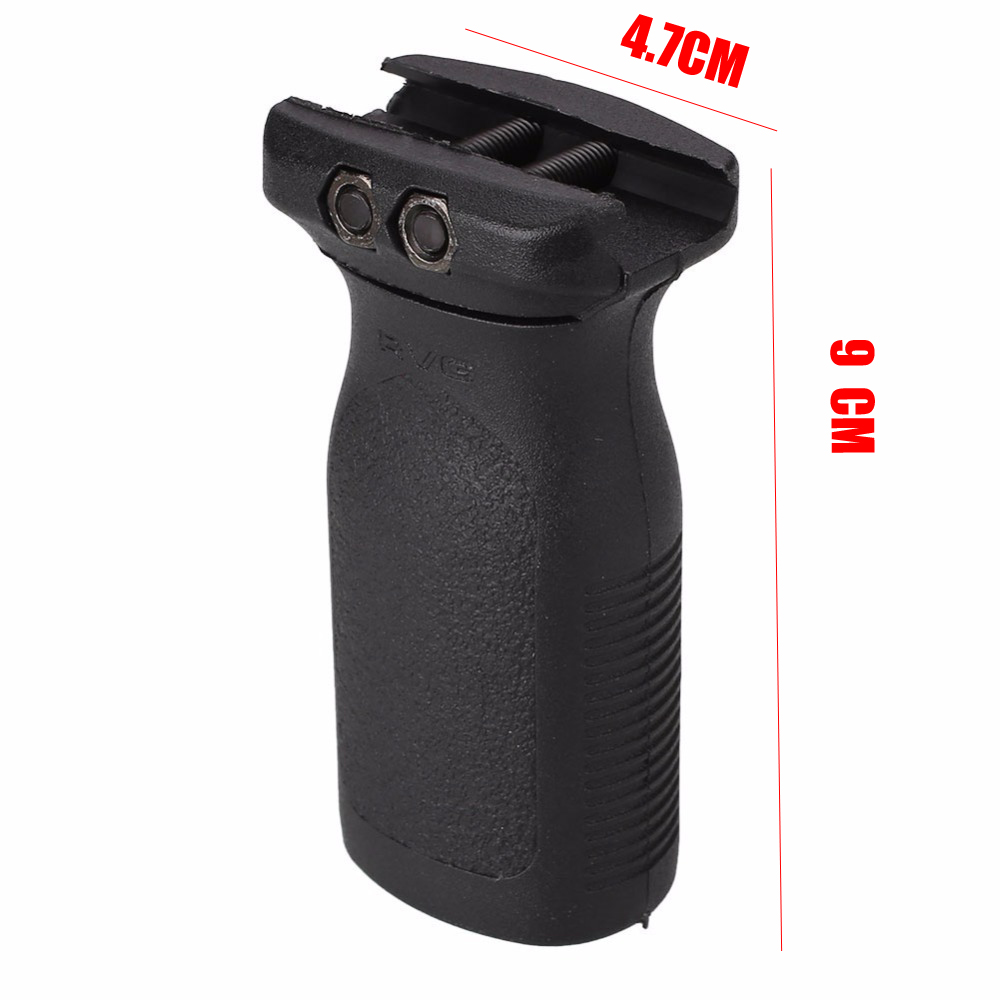 Image 5 - Tactical Hunting Airsoft RVG Vertical Grip Toy Air Gun AR15 Rifle Polymer Handheld For 20mm Picatinny Rail KeyMod Hand Guards-in Hunting Gun Accessories from Sports & Entertainment