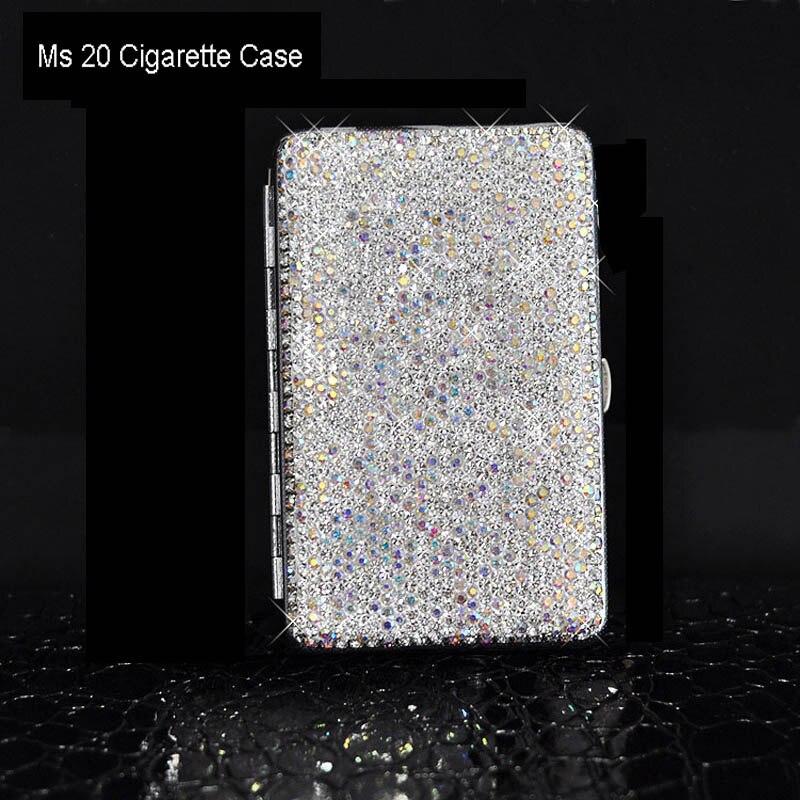 Shiny-Crystal-Diamond-Ms-20-Cigarette-Case-Charging-Windproof-Plasma-Lighter-Slim-Metal-Lightweight-Cigarette-Box (21)