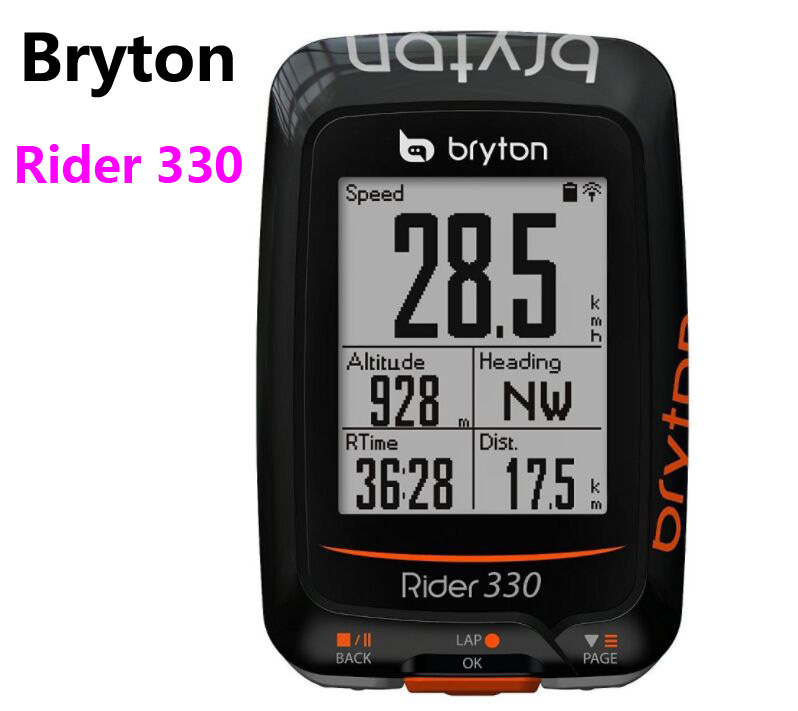 Bryton Rider 330 GPS Cycling Computer Enabled Bicycle/Bike computer Waterproof wireless speedometer pk Garmin Edge 200 510 810