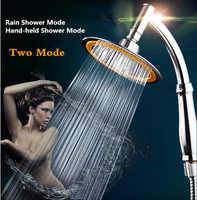 Accesorios de baño, ducha de lluvia, cabezal de ducha de mano ahorrador de agua, cabezal de ducha de SPA de alta presión y Set chuveiro ducha/douch