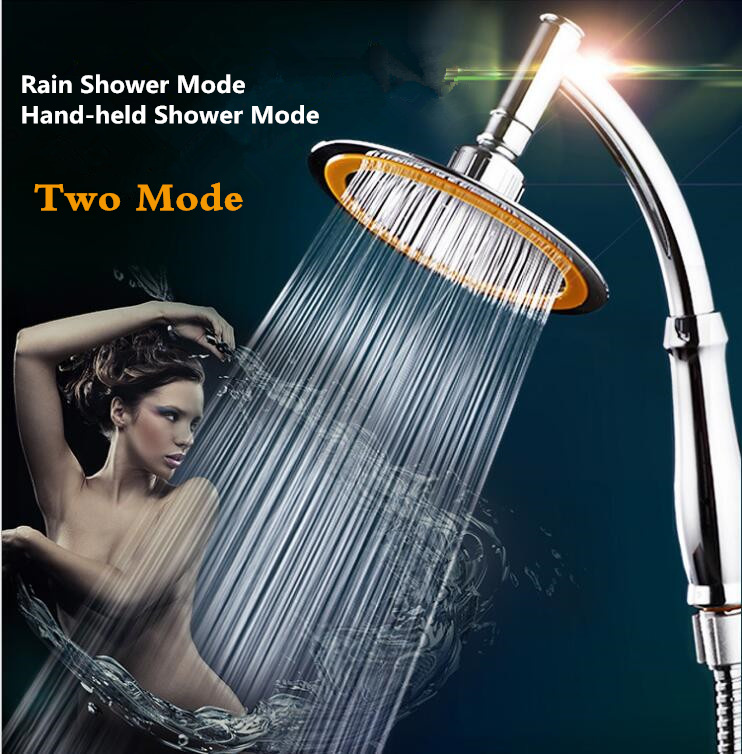 Bathroom Accessories, Rainfall Shower Handheld Water-Saving Shower Head,High Pressure SPA Showerhead &Set chuveiro ducha/douch