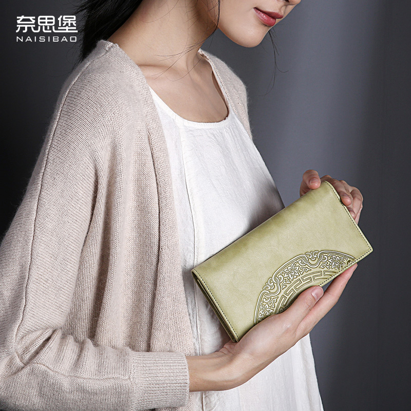Chinese style Genuine Leather brand female Clutch Wallet  fashion pattern cards holders womens wallets and purses free shipping chinese style genuine leather women clutch wallet fashion pattern cards holders brand womens wallets and purses free shipping