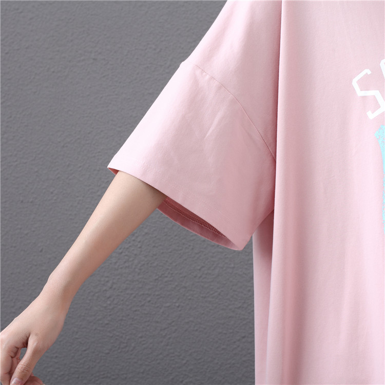 2019 Summer New Arrival Loose Female T-shirt Plus Size 4