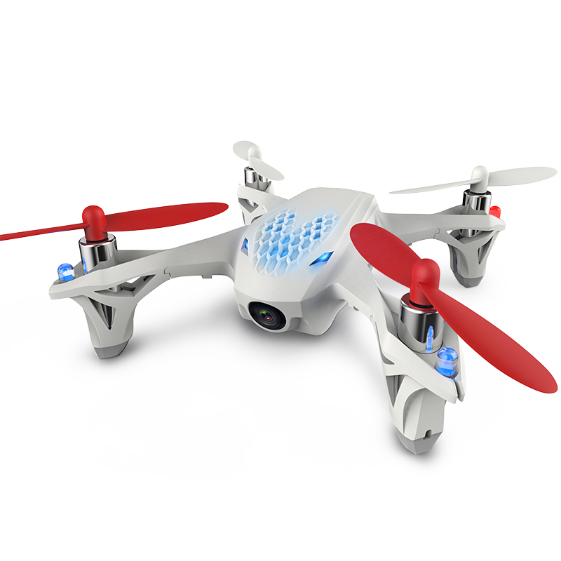 Nueva H107D X4 + FPV RC Quadcopter drone cámara HD LCD Transmisor de Video En Vi