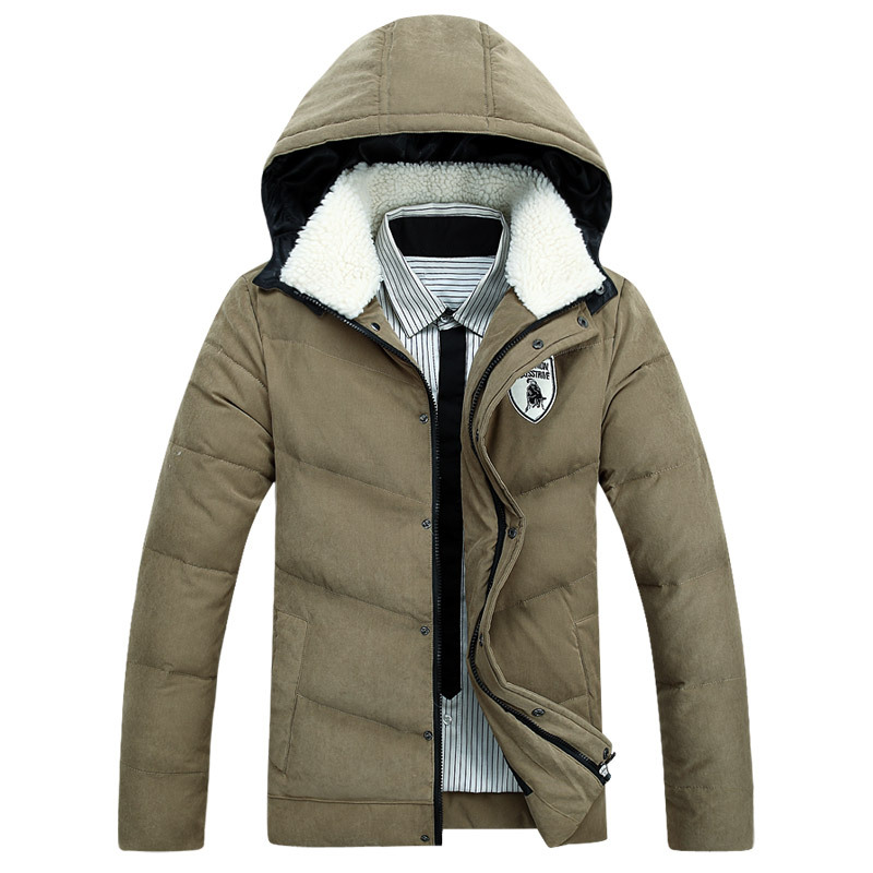 Men s 2016 Winter Thick Warm Coats Hooded Plus Size Down Jackets, Casual Fashion coat