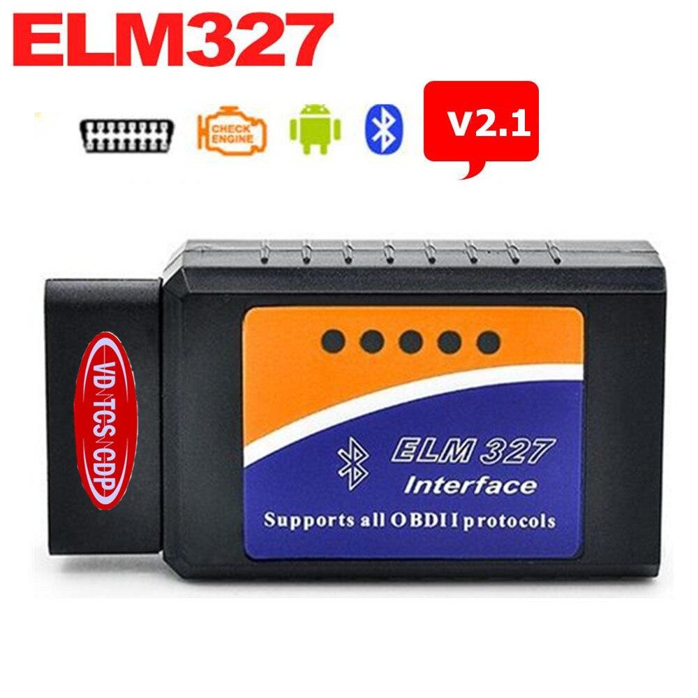 <font><b>2017</b></font> ELM327 <font><b>Bluetooth</b></font> V2.1 BT Works On Android Torque Elm327 Interface For Multi-Brand <font><b>OBD2</b></font> / OBDII Auto Car Diagnostic Scanner