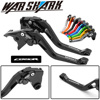 With Logo Motorcycle CNC Moto Adjustable Clutch Brake Levers For Honda CB 190R CB190R CB 190 R 2015-2017 2016