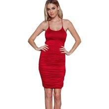Europe America Harness Dress Back Straps Stretch Elastic Vest Dresses  Backage Hip Vestido Women Clothing Vestidos 49918e182