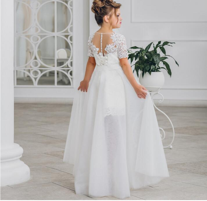 47d4e5983 Flower girl dresses for weddings and coat two piece set size 2 3 4 5 6 7 8  9 10 11 12 13 14 15 16 years old teenagers kid - aliexpress.com - imall.com