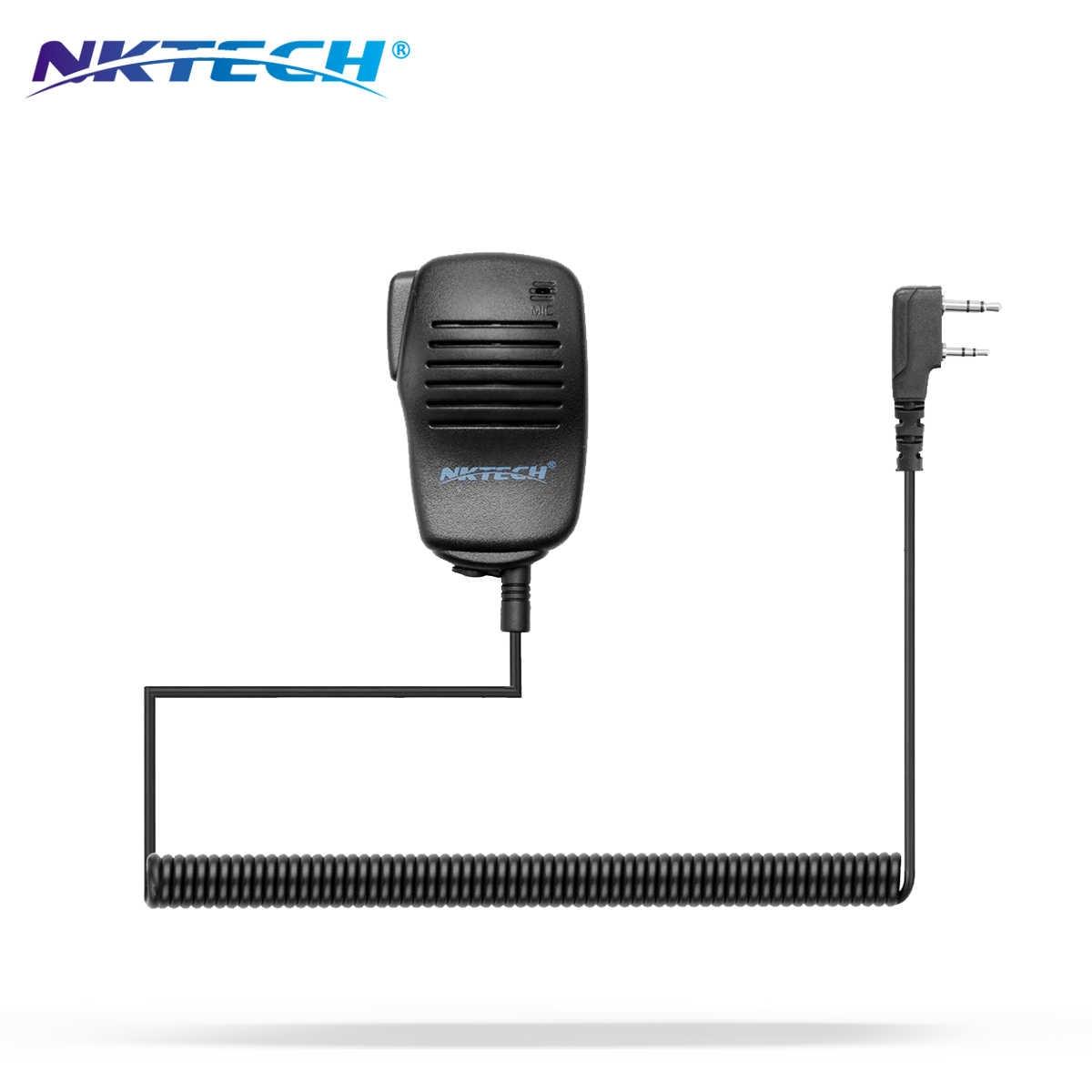 NKTECH Portable Haut-Parleur Micro NK-S113 Pour WOUXUN KG-UV9D KG-UV8D PLUS KG-UV6D Pro BaoFeng UV-82 UV-5R UV-5X GT-3 GT-5 DM-5R
