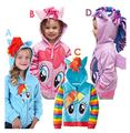 Envío gratis 2017 venta caliente de dibujos animados para niños sudaderas niñas precioso chaqueta de la primavera de los bebés hoodies al por menor XMZ045