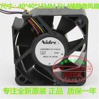 Nuevo NIDEC para Xbox One Kinect 2 0 4 cm USB U40R05MS1A7 57A07A X880927 004 ventilador de refrigeración -