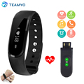 Teamyo ID101 monitor cardiaco ID101HR anti lost reminder wrist pulse meter sport fuelband Smartband calories VS mi fit i5 plus