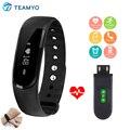 Teamyo id101 id101hr anti perdido lembrete monitor cardiaco pulso medidor de pulso esporte fuelband smartband calorias vs mi caber i5 mais