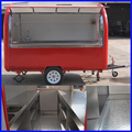 Мобильный прицеп для еды Мобильная тележка для еды фаст-фуд мороженое хот-дог еда грузовик