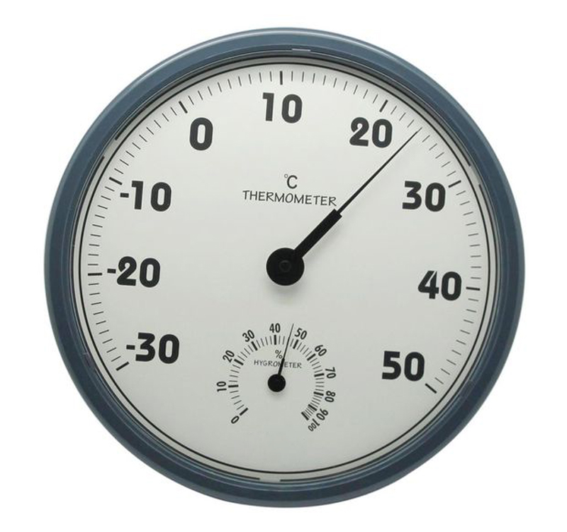 Large Screen Indoor Analog Thermometer and Hygrometer Two Ins