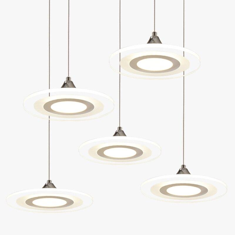 modern led pendant lights cord lamp dining room lustres 90-260v chandelier CE UL for kitchen hang fixtures MD3213