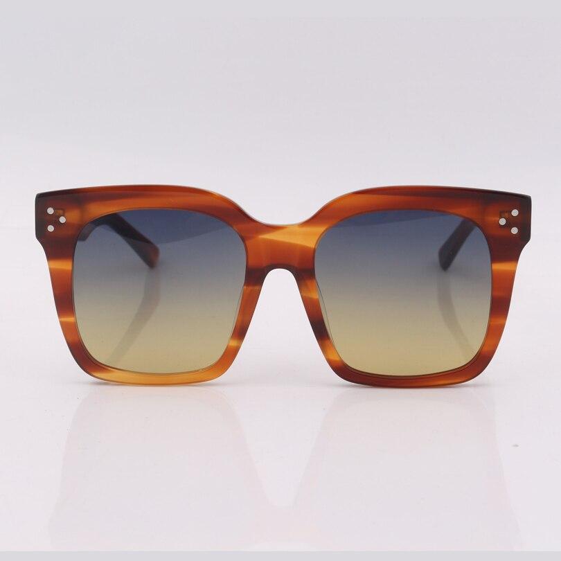 High quality square frame women sunglasses gradient lens fashion sunglasses men