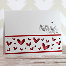 YaMinSanNiO 3 Pcs/lot Love Metal Cutting Dies for Scrapbooking Butterfly Embossing Paper Crafts Cut Decoration New 2019