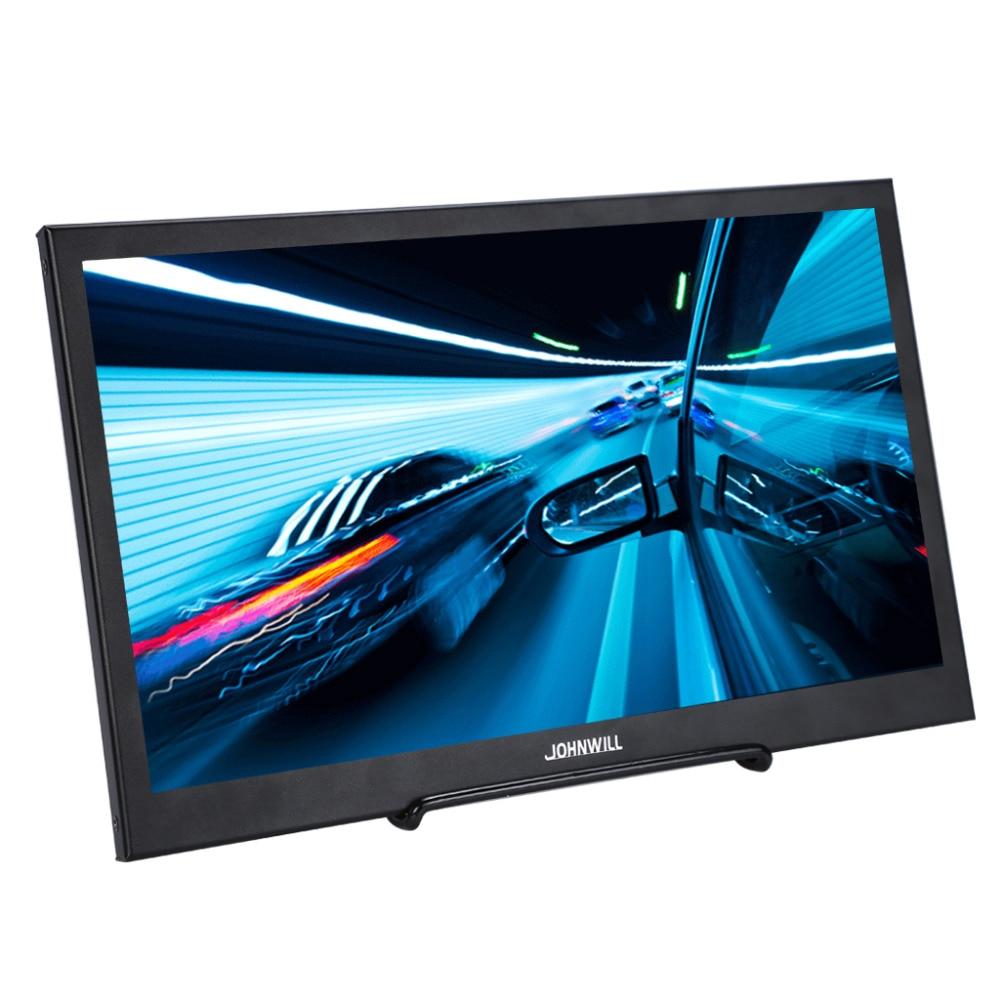 1080 P moniteur Full HD pour PS3 PS4 Xbo X360 13.3 pouces affichage Portable Raspberry Pi avec HDMI USB DC Interface écran LCD en métal