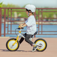 Оригинальный Xiaomi MiJia QiCycle велосипед трехколесный скутер 12 дюймов для детей желтый Цвет слайд и велосипед двойной Применение