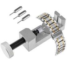 Профессиональный ремешок для часов и браслет, регулируемый с металлом, 3 шпильки, инструменты для ремонта часов для часовщика, Новинка