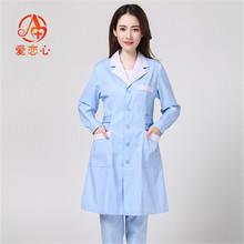 d023354876a Nurse Uniforms Health care workers stand collar white long-sleeve beauty  services short-sleeve