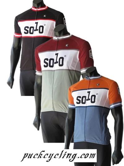 Solo CC short Jersey, bicycle sports man Bike Riding Shirts,ciclism