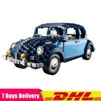 IN Stock LEPIN 21014 1707Pcs Technic UCS VW Beetle Car Set Educational Building Blocks Bricks Toys Compatible LegoINGlys 10187