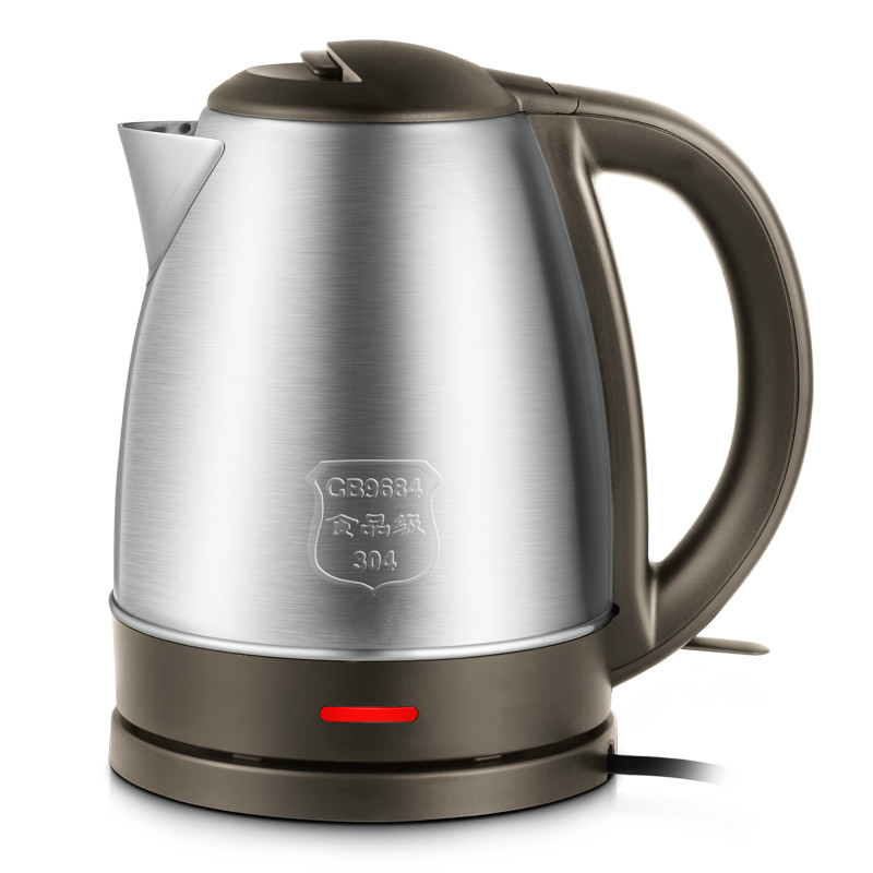 Electric heating kettle 304 stainless steel household full automatic power outage large capacity cukyi stainless steel 1800w electric kettle household 2l safety auto off function quick heating red gold