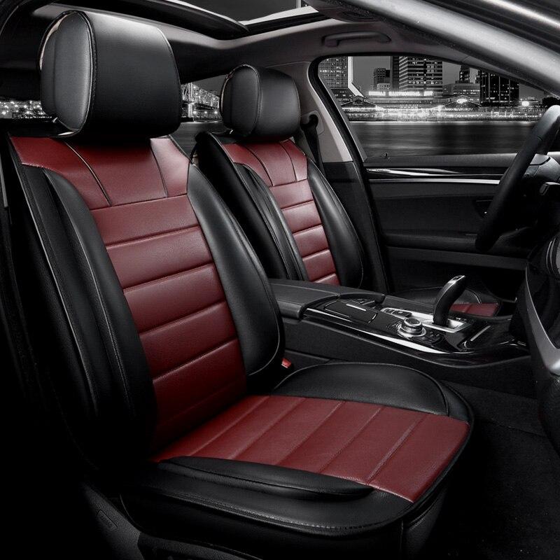 New pu leather seat cover universal for BMW e30 e34 e36 e39 e46 e60 e90 f10 f30 x3 x5 x6 automobiles car accessories seat cover carbon fiber vinyl leather car steering wheel cover fit for bmw e36 e46 e60 e90 38cm carbon wheel cover interior accessories