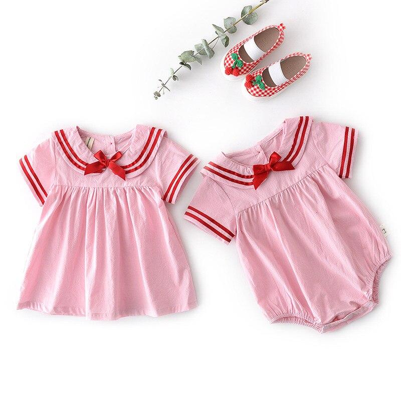 Familie Passenden Kleidung Outfits 2019 Sommer Jungen Shirt Mädchen Nette Polka Dot Kleid Baby Kinder Schwester Und Bruder Bluse Kleidung Mutter & Kinder