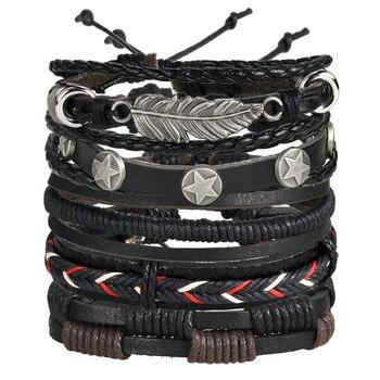 Women's Gold Leather Bracelet Bracelets Jewelry New Arrivals Women Jewelry Metal Color: BJCS707