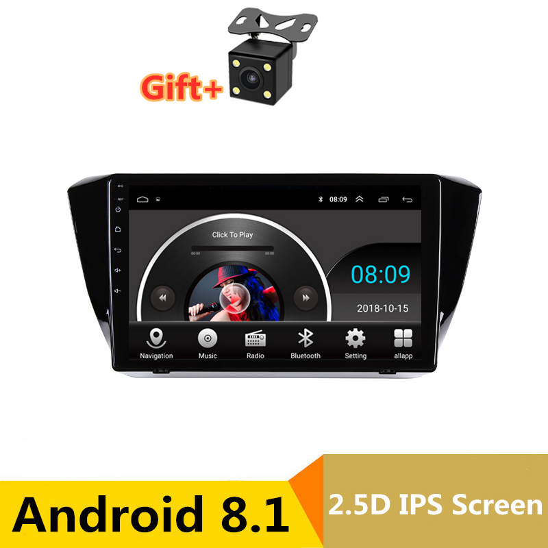 """Top 10.1"""" 2.5D IPS Android 8.1 Car DVD Multimedia Player GPS For Skoda Superb 2016 2017 2018 audio car radio stereo navigation 0"""