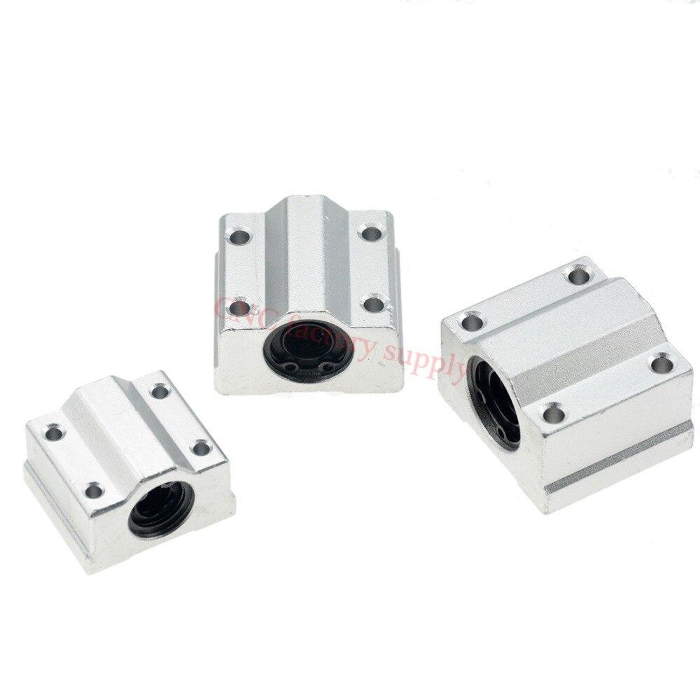 20pcs/lot SC16UU SCS16UU 16mm Linear Bearing Block CNC Router DIY CNC Parts 20pcs lot ls30 to252