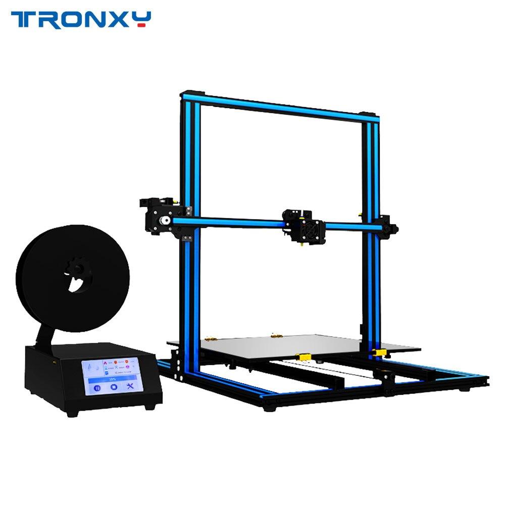 Mises à niveau Tronxy X3ST-400 3D imprimante 3.5 pouces Tactile Écran DIY kits Panne de courant Reprendre Impression 400*400*420mm Grande taille d'impression