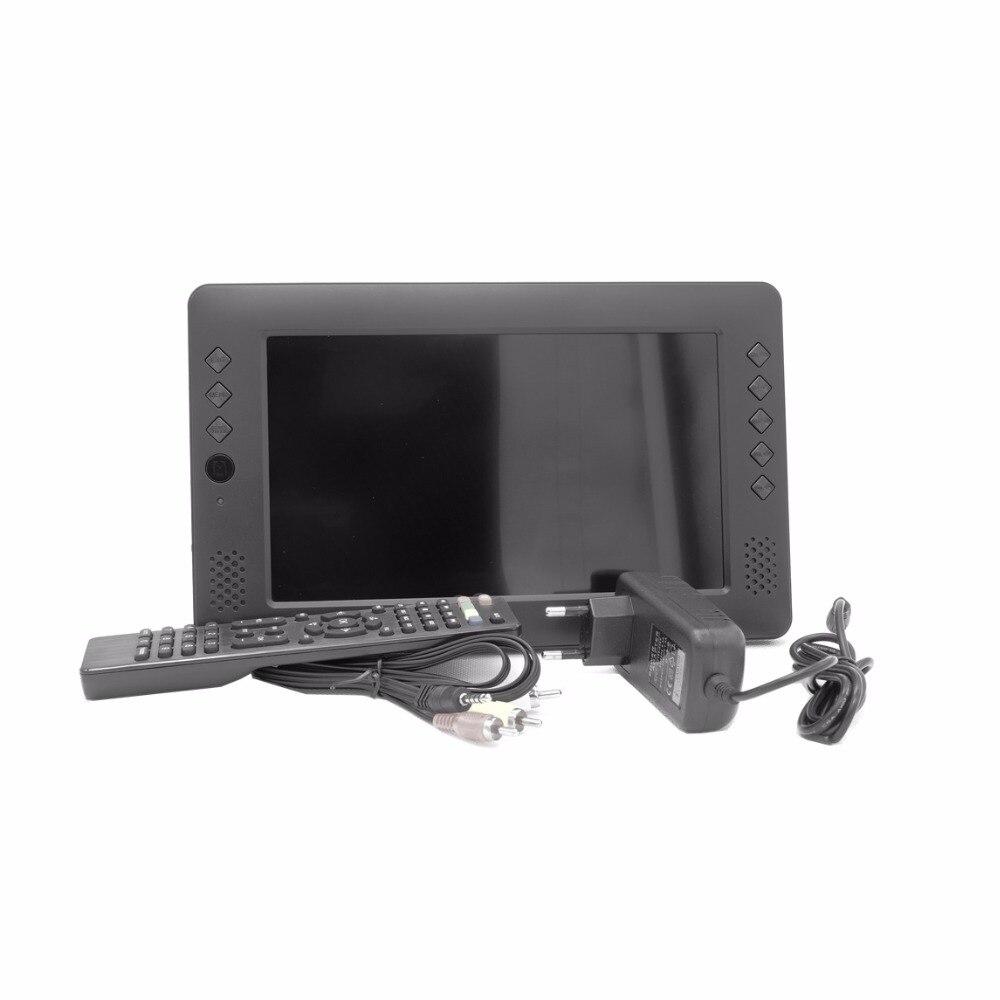 stong signal free watch tv!9 inch digital DVB T2 WIFI support multi-language digital mini portable tv long endurance mini tv! anna baiguera эспадрильи