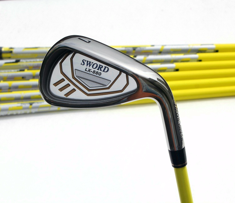 New Golf clubs SWORD LX-880 Compelete club sets Driver+3/5wood+irons+Hybrid wood Graphite Golf shaft Free shipping