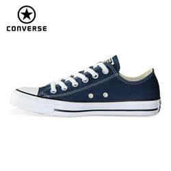2018 Новый CONVERSE origina все стильная обувь Chuck Taylor uninex классические кроссовки Мужские Женские Скейтбординг обувь