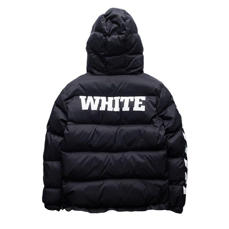 d16f7da4219 ГРЯЗНО БЕЛЫЙ Мужская Хип Хоп Куртки Высокого Качества № 13 печатные Мода  зимняя мода Пальто Kanye West Мужчины Куртка 3 цвета купить на