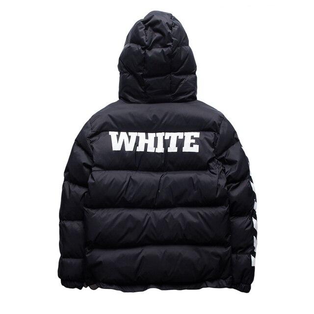 ГРЯЗНО-БЕЛЫЙ Мужская Хип-Хоп Куртки Высокого Качества № 13 печатные Мода зимняя мода Пальто Kanye West Мужчины Куртка 3 цвета