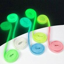 Светятся в темноте шнурки светоотражающие шнурки цветные тапки shoeslace низкая цена sylon свет шнурки