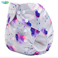 New Arrive Double Row Snaps Baby Diaper Accept Custom Order AIO Cloth Diaper With One Microfiber Inserts S-Series