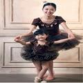 Mãe E Filha se Veste adereços fotografia vestido tutu Roupas Combinando Vestido Vestido de Mãe E Filha Família roupas combinando 2016